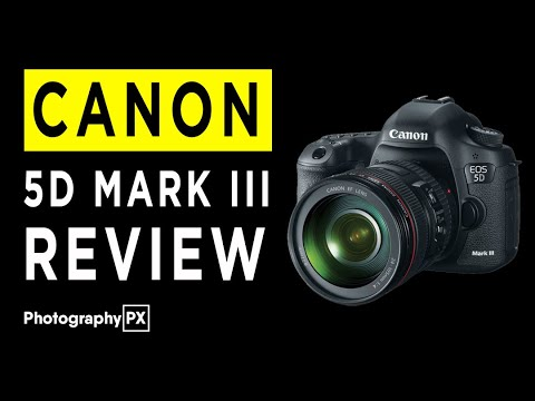 Canon EOS 5D Mark III DSLR Camera Review & Hands on