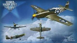 Обзор американского истребителя p 51 a (World of WarPlanes) ( Гайд VOD )