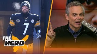 Colin Cowherd on Ben Roethlisberger's massive frustration with Mike Tomlin | THE HERD