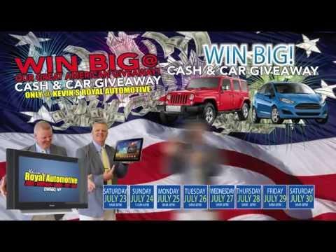 Kevin's Royal Automotive - July Sales Spot