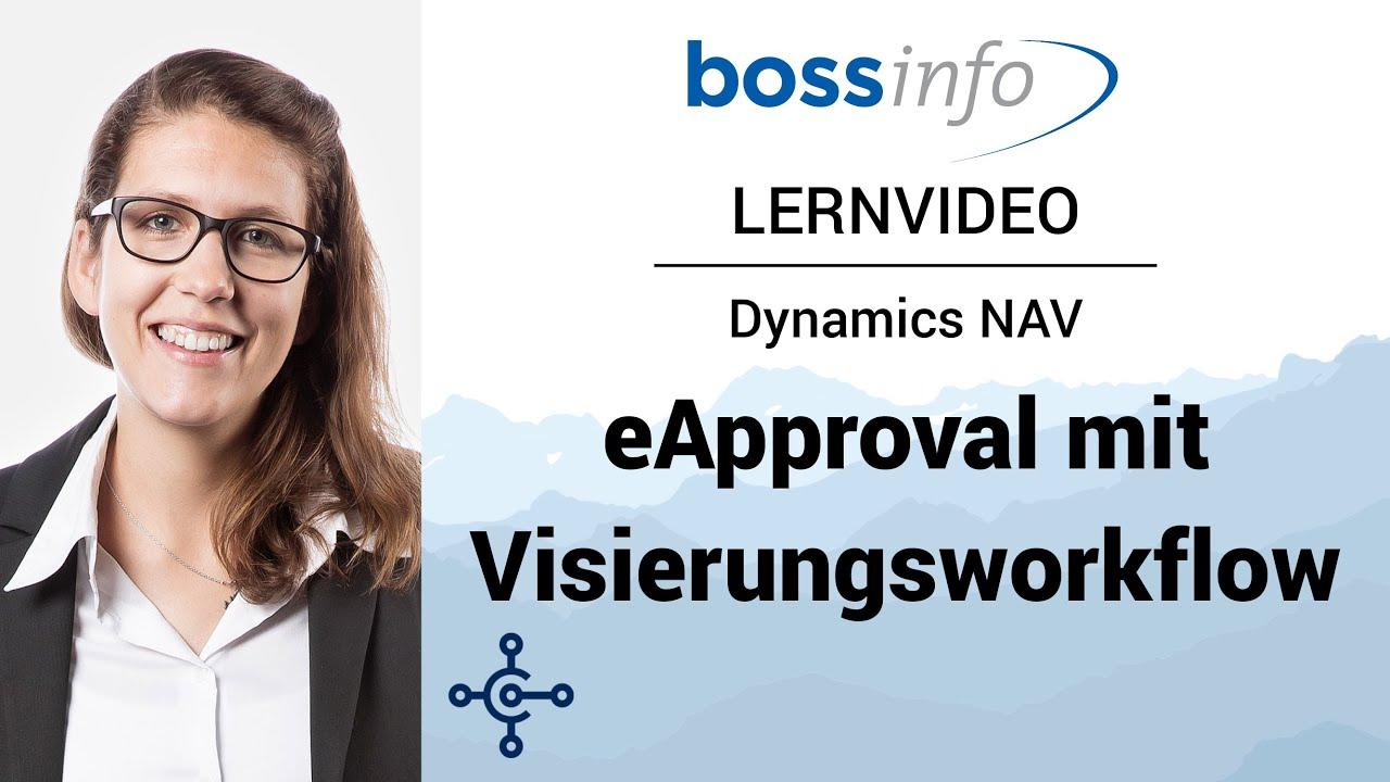 eApproval für Microsoft Dynamics NAV - Rechnungseingang mit Visierungsworkflow