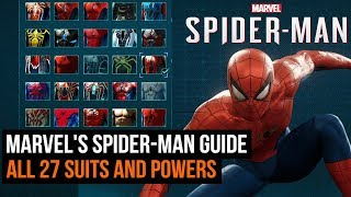Spider-Man PS4 guide - How to get ALL the suits and powers