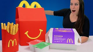 DIY GIANT HAPPY MEAL 🙂 - RIP TOYS R US