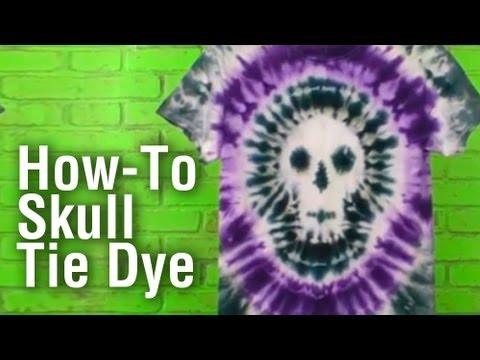 Baixar How-To Make a Tie Dye Skull Shirt