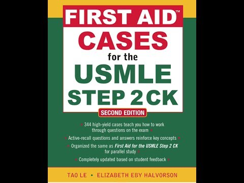 USMLE Step 2 CK First Aid iPhone/iPad Medical School App