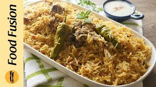 Mutton Tahari Recipe By Food Fusion