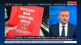 BREAKING: Russia's State TV Instructing Russian Citizens To Start Prepping For The Armageddon!