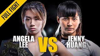 Angela Lee vs. Jenny Huang | ONE Championship Best Fights | March 2017