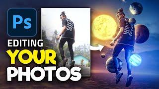 Editing YOUR Photos in Photoshop!   S1E4