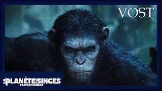 La planète des singes l'affrontement :  teaser VOST