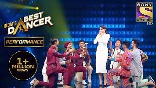 Contestants का एक प्यारा सा Tribute Nora के लिए   India's Best Dancer