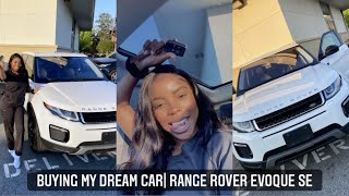 VLOG: I BOUGHT MY DREAM CAR 🙏🏾 RANGE ROVER CAR TOUR!!!