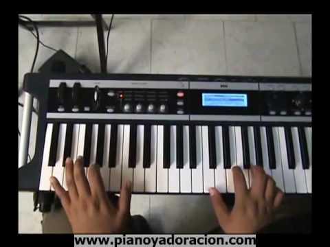 Tutorial de piano sobre como bajear con la mano izquierda