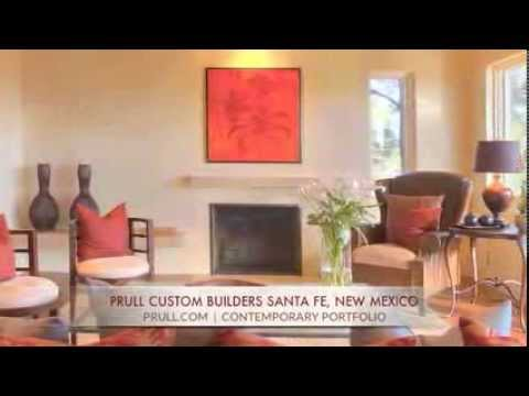 Prull Custom Home Builders in Santa Fe, New Mexico - Contemporary Homes
