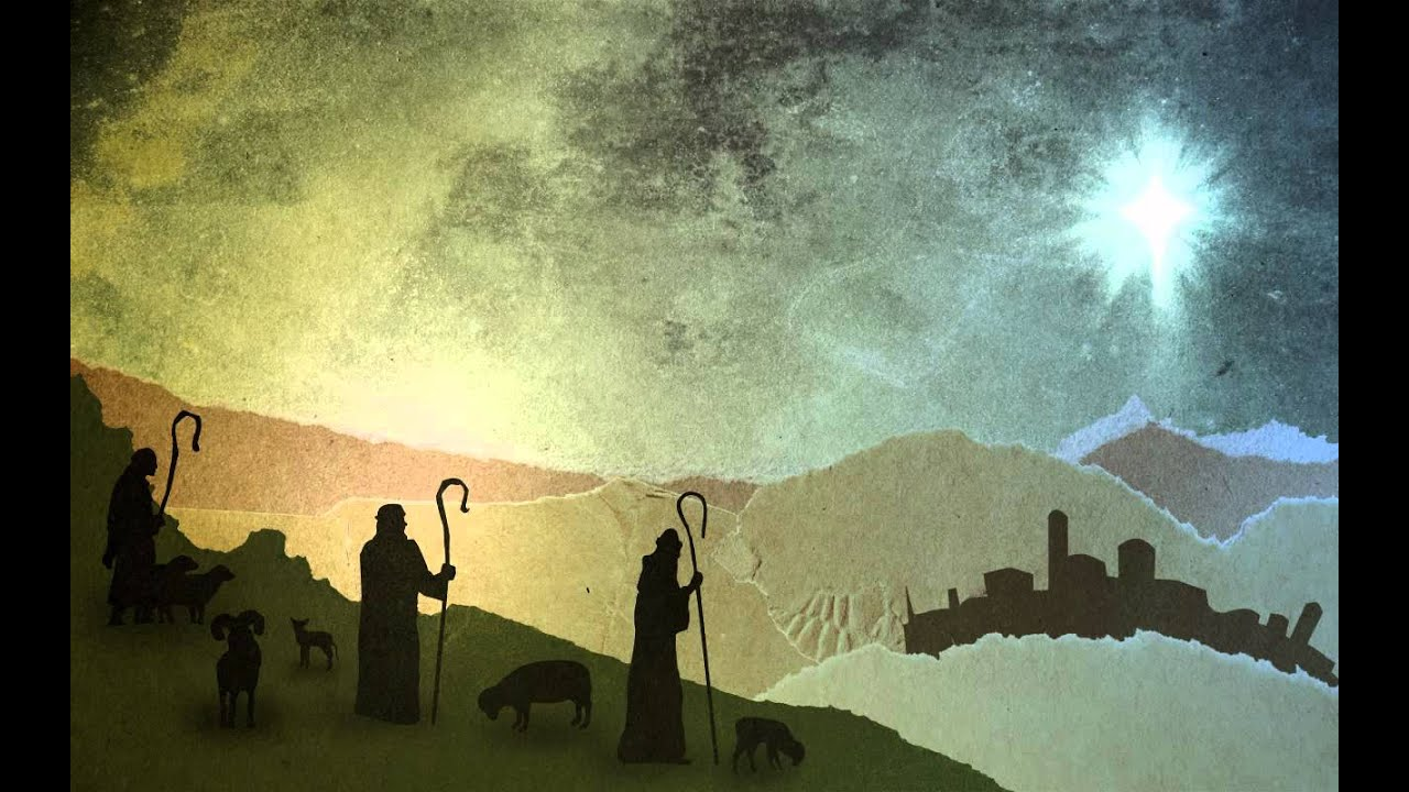 Christmas worship background - Shepherds (Free Background ...