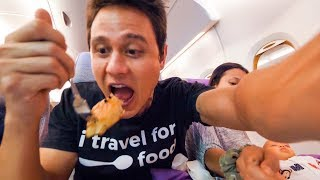 Emirates Airline FOOD REVIEW - Bangkok to Dubai  to Munich | Layover at Dubai International Airport