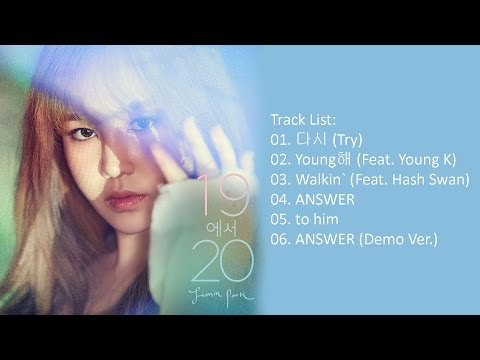 [Full Album] Jimin Park (박지민) - 19에서 20 [Mini Album]