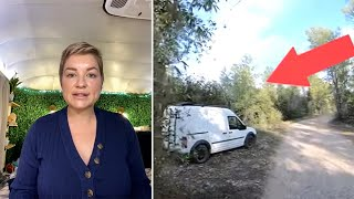 Road-tripping family believes they spotted Gabby Petito's van in video