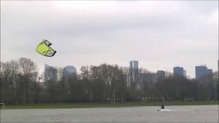 Kitesurf, Paris 4 février 2018