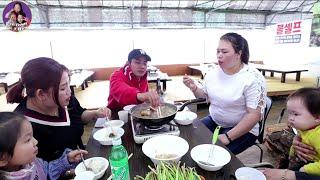 🇰🇷Vlog 232 || Ăn Lẩu Mắm Và Bàn Loạn Chuyện Làm Youtube || Gia Đình Việt Hàn