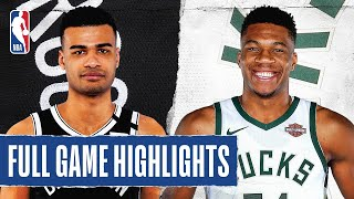 NETS at BUCKS | FULL GAME HIGHLIGHTS | August 4, 2020