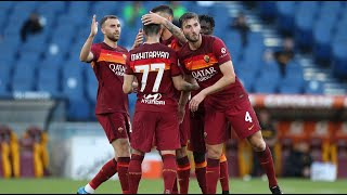 AS Roma 5 - 0 Crotone | Serie A Italy | All goals and highlights | 09.05.2021