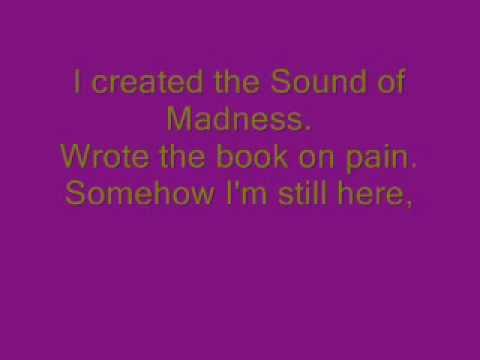 Sound of Madness Lyrics - Shinedown