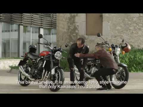 Z900RS Press Introduction - Behind the Scenes