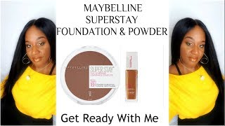 I ABSOLUTELY LOVE THIS FOUNDATION- GRWM feat. MAYBELLINE SUPERSTAY FOUNDATION