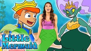 Little Mermaid Chapters 1-10! The Full Fairy Tale! | Story Time with Ms. Booksy at Cool School