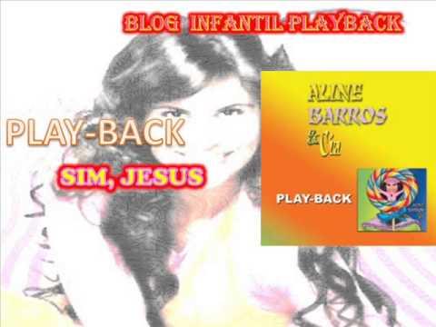 Baixar sim jesus-playback-aline barros