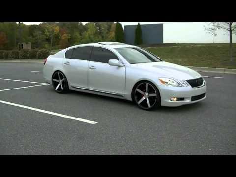 Lexus Gs 430 22s Custom Painted Rims Videomovilescom