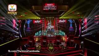 The Voice Cambodia Heang Sophors VS Son Ly Heang-14 Sep 2014