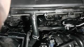 Melepas Kipas Radiator dan AC Honda Accord 2008