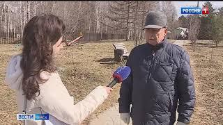 В Омске началась массовая обработка парков от клещей