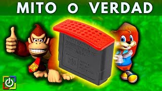 Expansion Pack de N64 | MITOS  y VERDADES  👾 - Jugamer