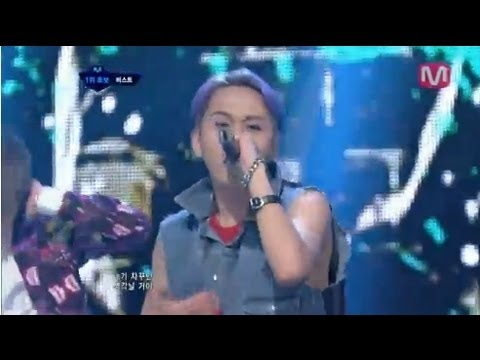 비스트_아름다운 밤이야 (Beautiful Night by Beast @Mcountdown 2012.08.02)
