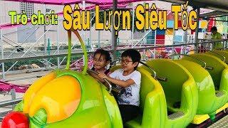 Stin Dâu Đi Khu Vui Chơi (^_^) Trò Chơi Sâu Lượn Siêu Tốc - Chơi Tết Ở SC Vivo City