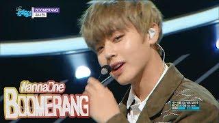 [Comeback Stage] WANNA ONE - BOOMERANG, 워너원 - 부메랑 Show Music core 20180331