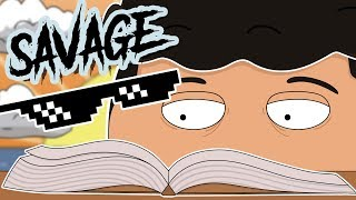 Summer Reading and the Most Savage Kid Ever ( Animated Story )