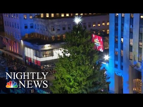 The Story Behind This Year's Rockefeller Center Christmas Tree | NBC Nightly News