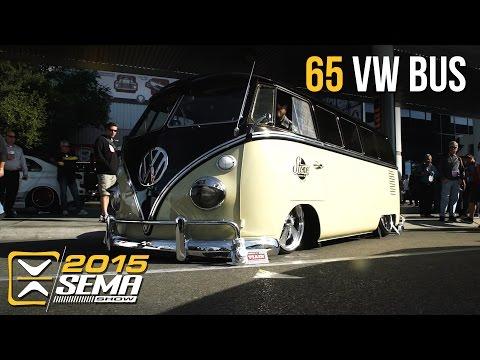 SEMA 2015   1965 Volkswagen Bus   Stone Fab