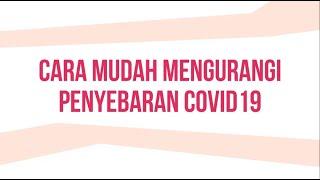 Cara Mudah Mengurangi Penyebaran Covid19