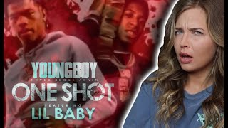 YoungBoy Never Broke Again - One Shot (feat. Lil Baby) | REACTION