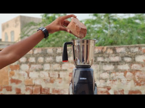 Hard Stone vs Mixer Grinder Experiment || Hard Stone Inside Mixer Grinder || Experiment King