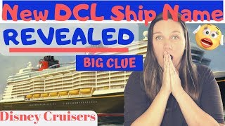 Name of New DiSNEY CRUiSE Ships plus Giveaway Winners