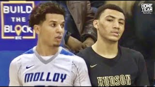 Jahvon Quinerly Vs. Cole Anthony! Top PG's CRAZY Match Up at SNY Invitational