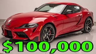 2020 Toyota GR Supra Dealer mark ups are here