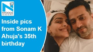 Sonam Kapoor celebrates birthday with Anand and Rhea, see ..