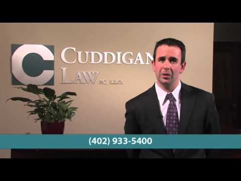 Omaha lawyer Sean Cuddigan explains how a local lawyer can meet with you long before the day of the hearing. Our office is in Omaha and we don't file in the day of the hearing.